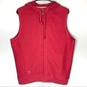Tommy Bahama Jackets & Coats - Tommy Bahama Hooded Sweatshirt Vest Zip Up